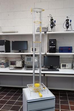 Investigadores de la ULL desarrollan un dispositivo para estudiar la caída libre