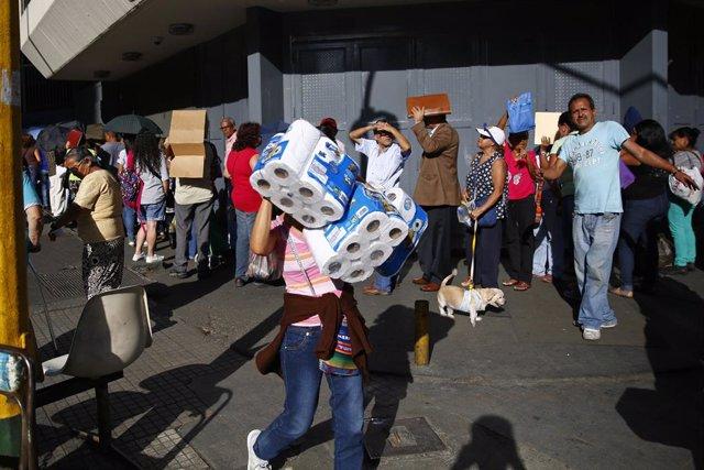"""Venezuela.-Los venezolanos están ante un """"desafío sin precedentes"""" y cerca del 2"""