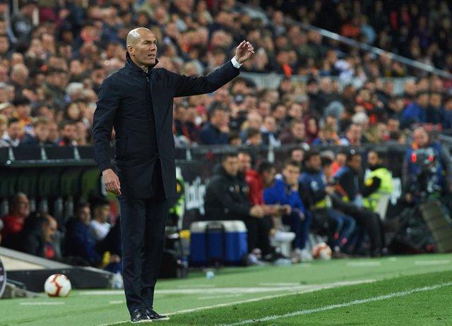 "Fútbol.- Zidane: ""Una derrota siempre duele"""