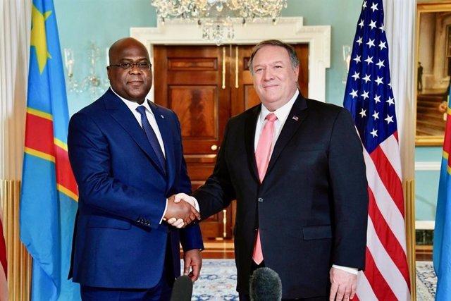 """EEUU/RDC.- Pompeo se compromete a apoyar la """"agenda de cambios"""" del presidente d"""