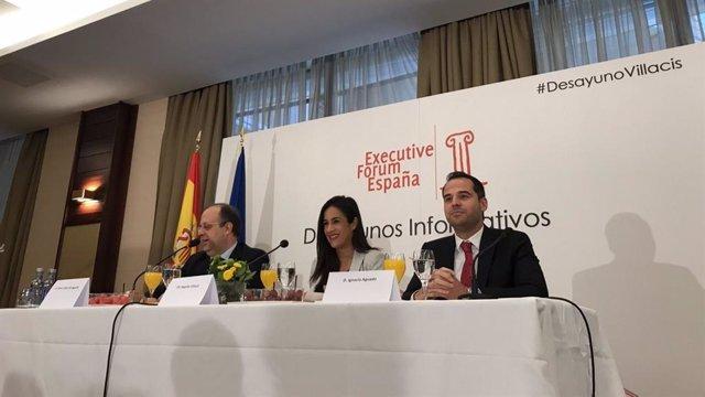 """Villacís apuesta por cambiar la ley electoral para que """"España se independice de"""