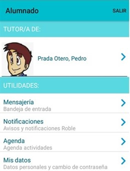 Educación lanza una app que permite a los padres conocer las notas del alumno, s