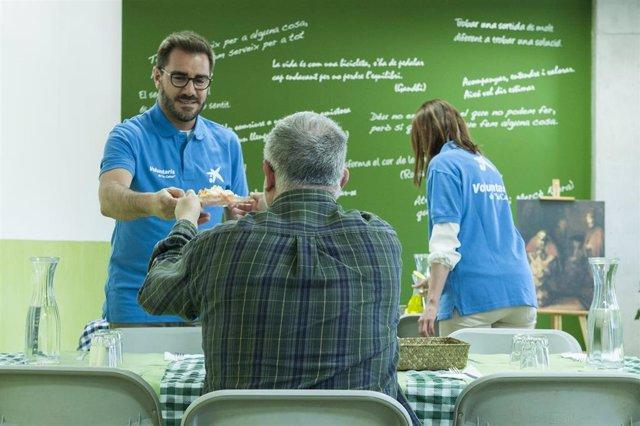 CaixaBank promueve que 13.000 empleados y 1.200 clientes hagan de voluntarios en