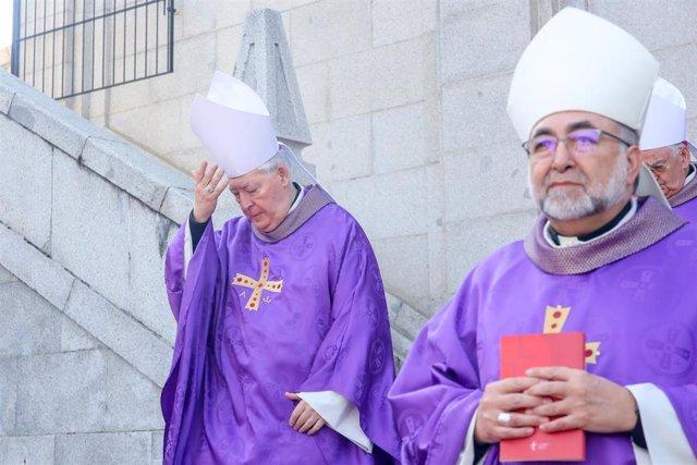 Peregrinación de los obispos españoles al Cerro de los Ángeles por el Centenario