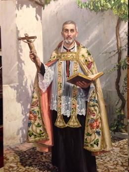 Lienzo de San Juan de Ávila que se enviará al Vaticano