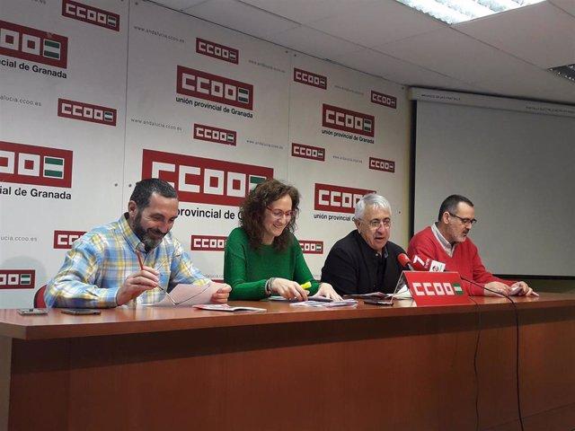 Granada.- CCOO reclama a la Junta que mantenga la gestión pública de Sierra Neva