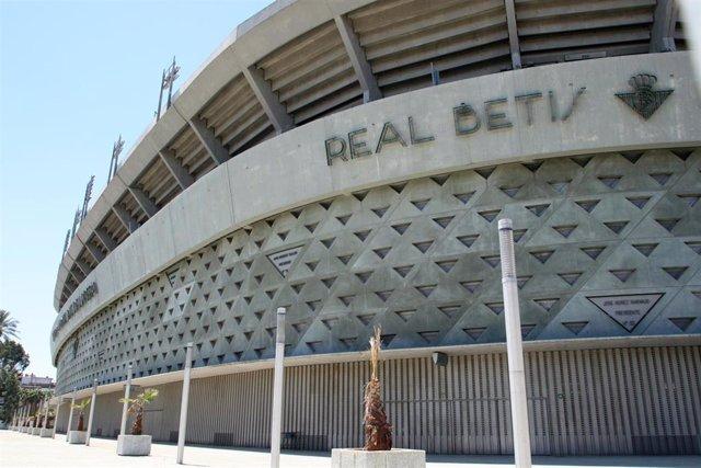 Exterior del estadio Benito Villamarín