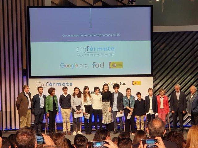 Fad y Google lanzan el proyecto '(In)fórmate' para combatir las 'fake news' entr