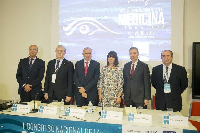 Málaga.- El II Congreso Nacional de la Medicina reúne en Málaga a unos 200 profe