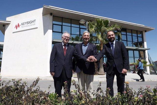 Málaga.- La estadounidense Keysight Technologies inaugura su nueva sede en el PT