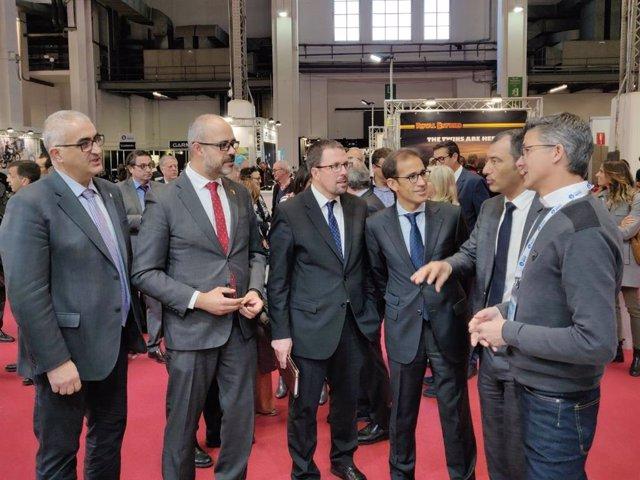 Fira.- Buch inaugura el saló Viu la Moto Barcelona que acollir 35.000 visita