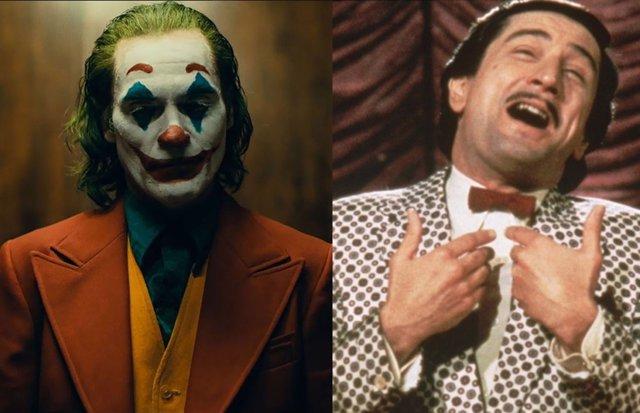 Robert De Niro revela la conexión entre Joker y El rey de la comedia de Scorsese