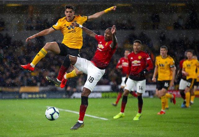 England Premier League - Wolverhampton vs Manchester United