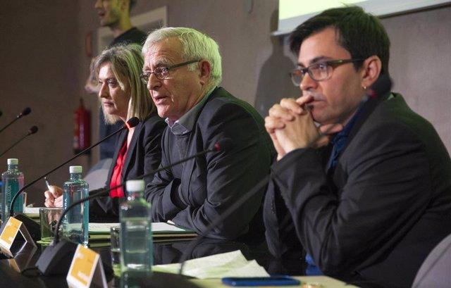 València.- Ribó i Pisarello valoren el paper de la contractació pública per la