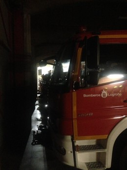 Recurso camión bomberos de Logroño