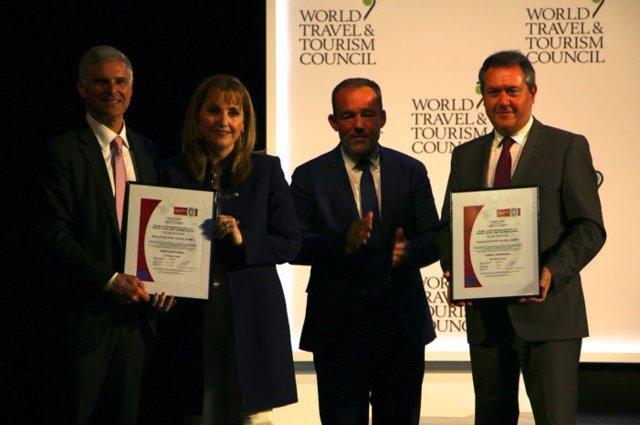 Sevilla.- Turismo.- La cumbre de WTTC recibe la certificación de evento sostenib