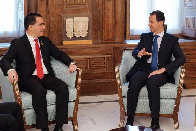 Venezuelan Foreign Minister in Syria