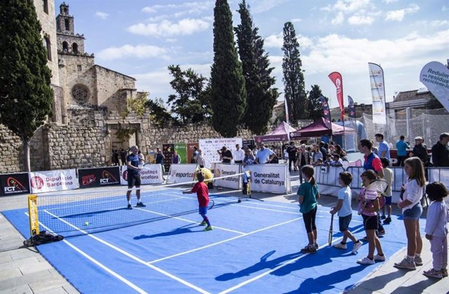 Una iniciativa instal·larà una pista de tennis a Terrassa (Barcelona) aquest div