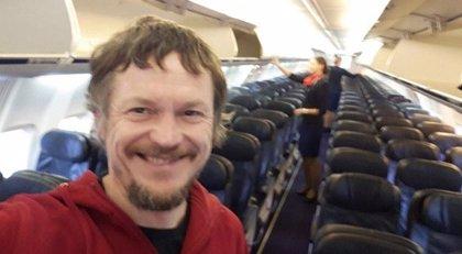 Un avión comercial con destino Italia lleva a un solo pasajero a bordo