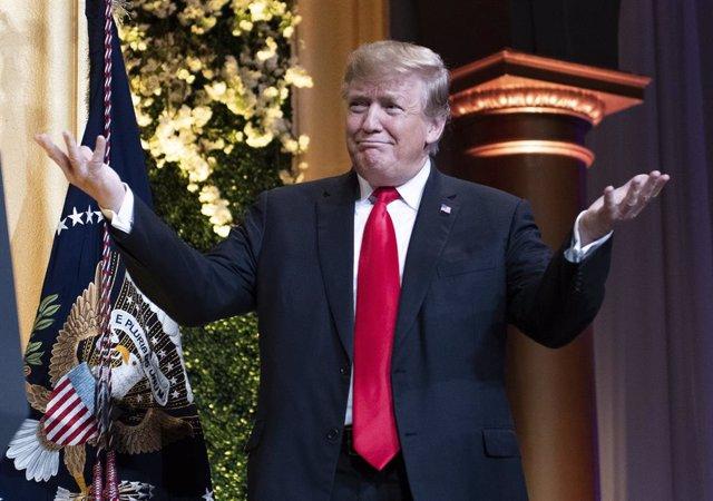 Trump at the NRCC Spring dinner