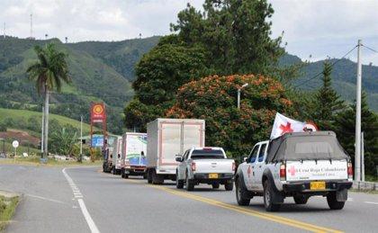 Colombia habilita un corredor humanitario en el departamento de Cauca para abastecer el sur del país