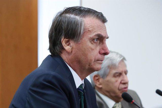 Brasil/EEUU.- Bolsonaro y Trump se reunirán la próxima semana en EEUU