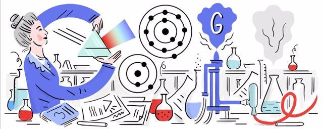 Google homenajea en su 'doodle' a Hedwing Kohn, reconocida física y símbolo de l