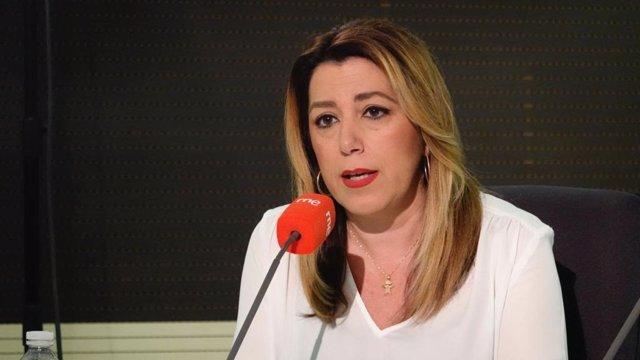"""Susana Díaz pide un debate """"serio y responsable"""" sobre la muerte digna en el Con"""