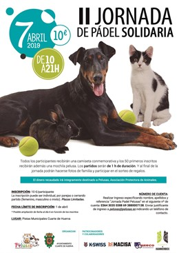 Zaragoza.- La protectora de animales Pelusas organiza la II Jornada solidaria de