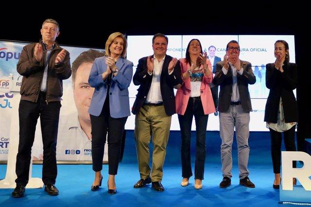 """Huelva.-26M.- Duarte (PP) se marca el reto de """"recuperar San Juan"""" tras cuatro a"""