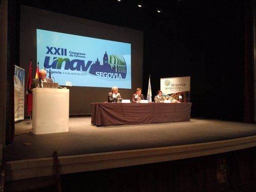 La Unión de Agencias de Viajes (UNAV) reúne en Segovia a 300 agentes de viajes