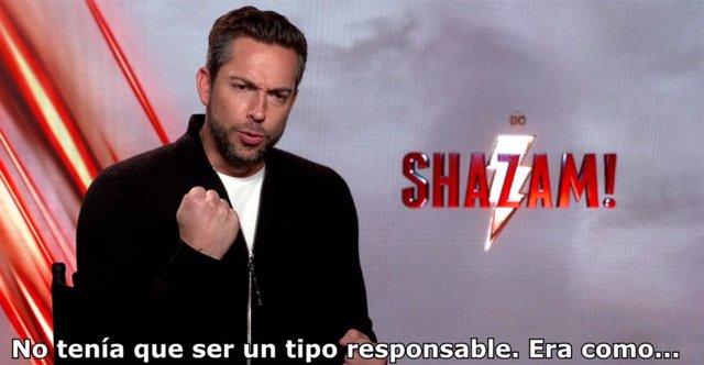 """Zachary Levi protagoniza ¡Shazam!: """"Sigo siendo un niño grande"""""""