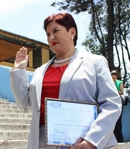 Fiscal General de Guatemala  Thelma Esperanza Aldana Hernández.