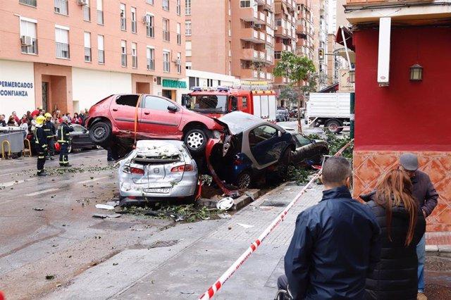 Málaga.- Estable dentro de la gravedad el conductor del autobús que ha arrollado