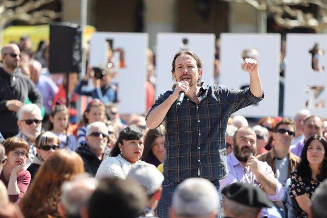 """Iglesias pone en duda que Marlaska haya limpiado las 'cloacas': """"El PSOE tiene q"""