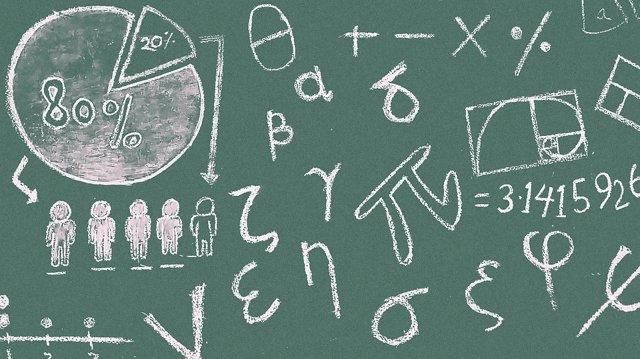Recurs pissarra, matemàtiques, col·legi, universitat, nombres, classe, estudis