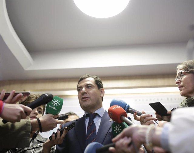 28A.- Moreno Acusa Al PSOE De Abrir El Debate De La Eutanasia En Plena Campaña E