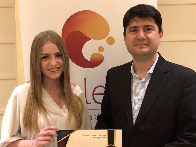 La joven asturiana Julia Menéndez Velasco recoge el Premio Nacional de Jóvenes D