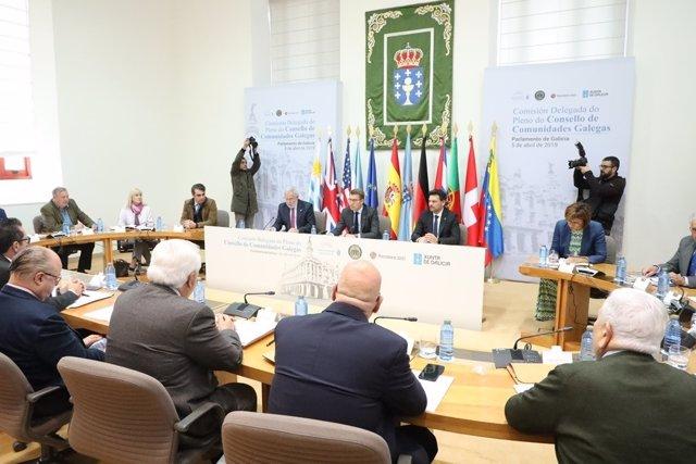 Feijóo pide al Gobierno que facilite el retorno de las familias emigradas en Ven