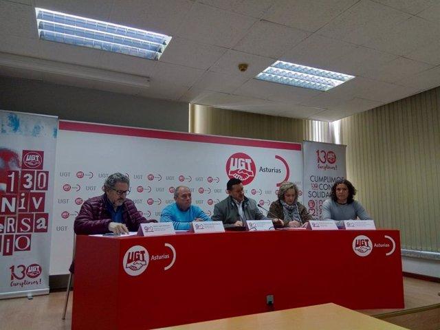 UGT exige a los ayuntamientos del Nalón que abandonen la vía judicial y que nego