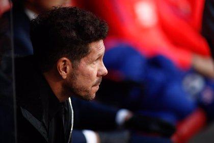 """Simeone: """"No haber ganando nunca al Barça me hace ser superoptimista"""""""