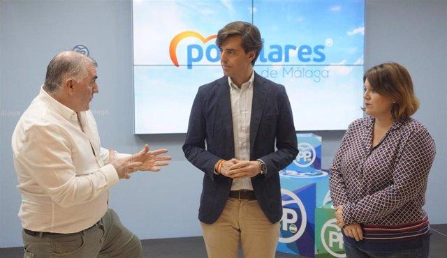 """Málaga.- 28A.- Montesinos (PP) critica la alianza del PSOE """"con aquellos que ata"""