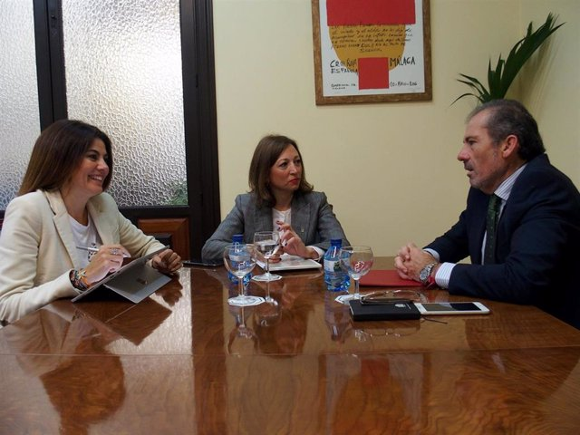 Málaga.- La Junta y el Colegio de Abogados analizan la mejora de las sedes judic