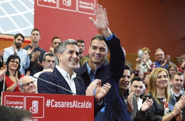 Pedro Sánchez participa en el acto de presentación de la candidatura a la alcald