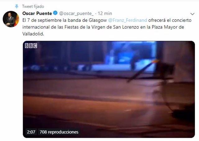Franz Ferdinand será el concierto internacional de las fiestas de Valladolid el