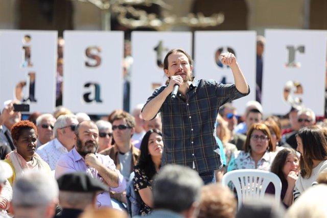 Iglesias pide a los medios que publicaron noticias falsas sobre Podemos que rect