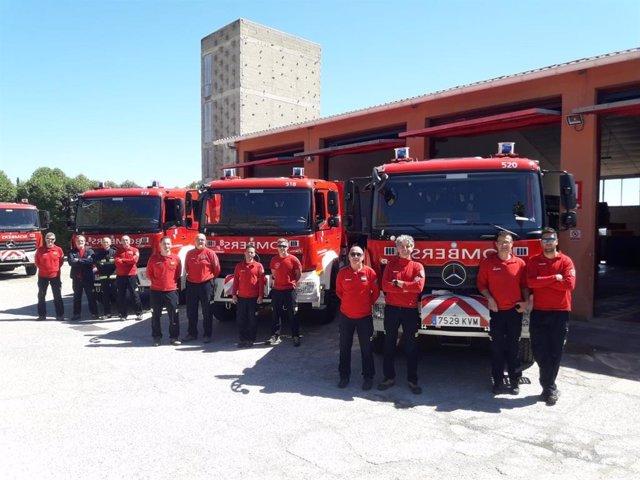El Consell incorpora tres camiones a la flota de vehículos de los Bomberos de Ma