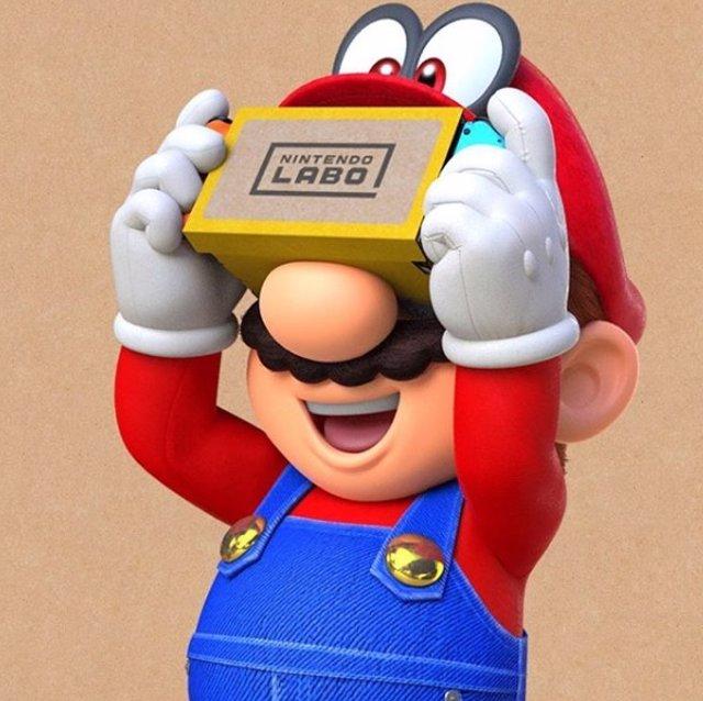 Mario Bros y Zelda se unen a la Realidad Virtual en Nintendo Switch gracias al K