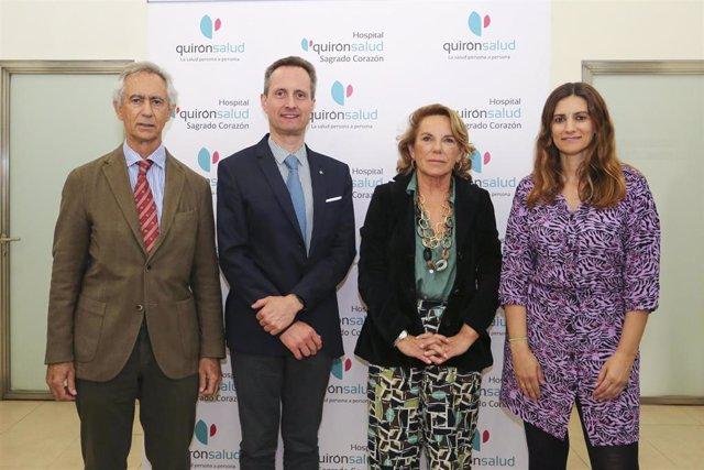Sevilla.- El Hospital Quirónsalud Sagrado Corazón acoge una jornada sobre oncolo