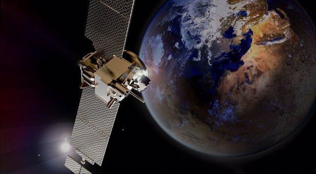 Amazon planea instalar una red de satélites de baja órbita para proporcionar Int